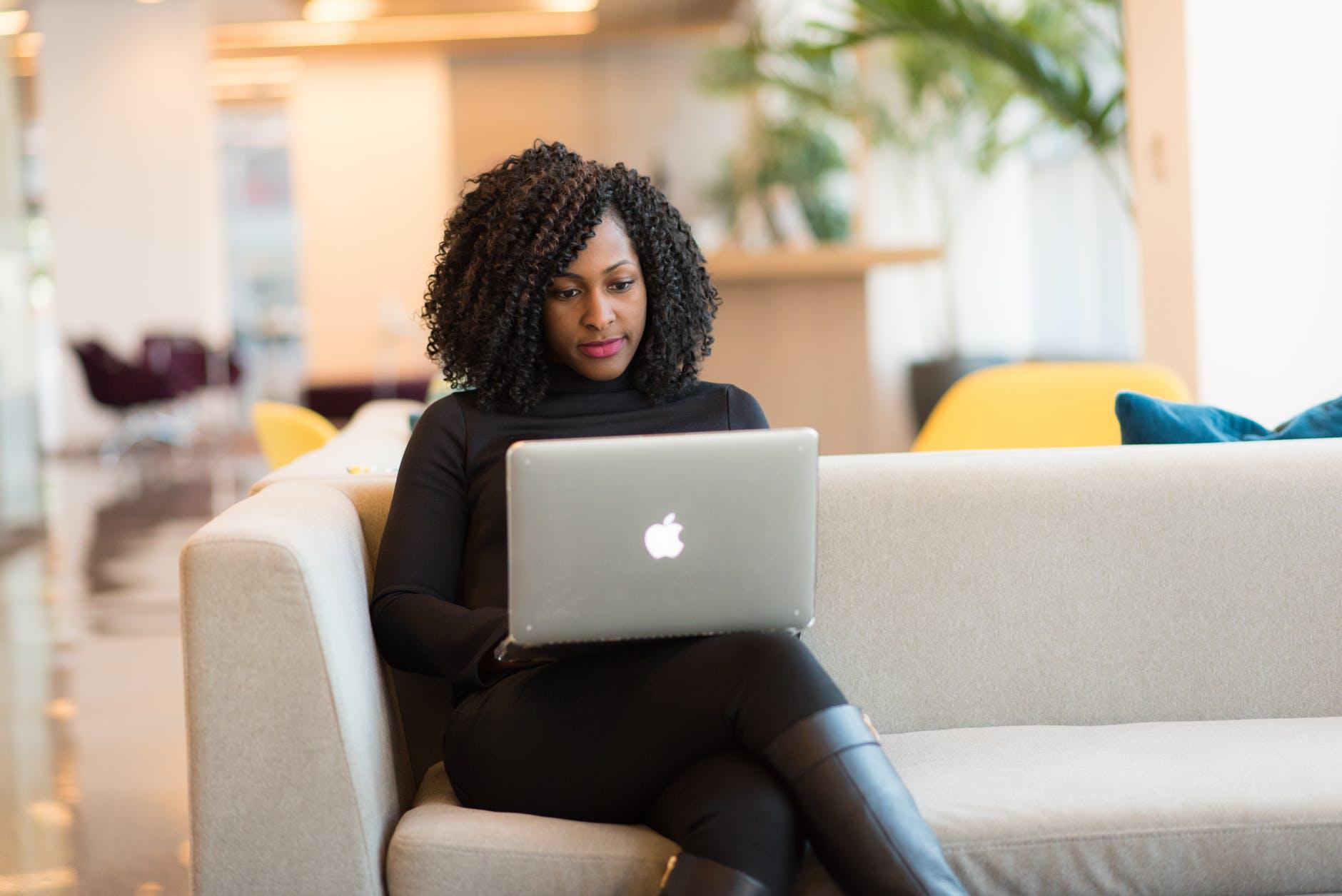 african american woman black girl black woman chair